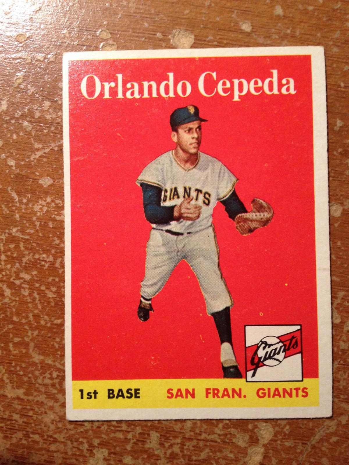 1958 Topps Baseball Set Complete EX  EX