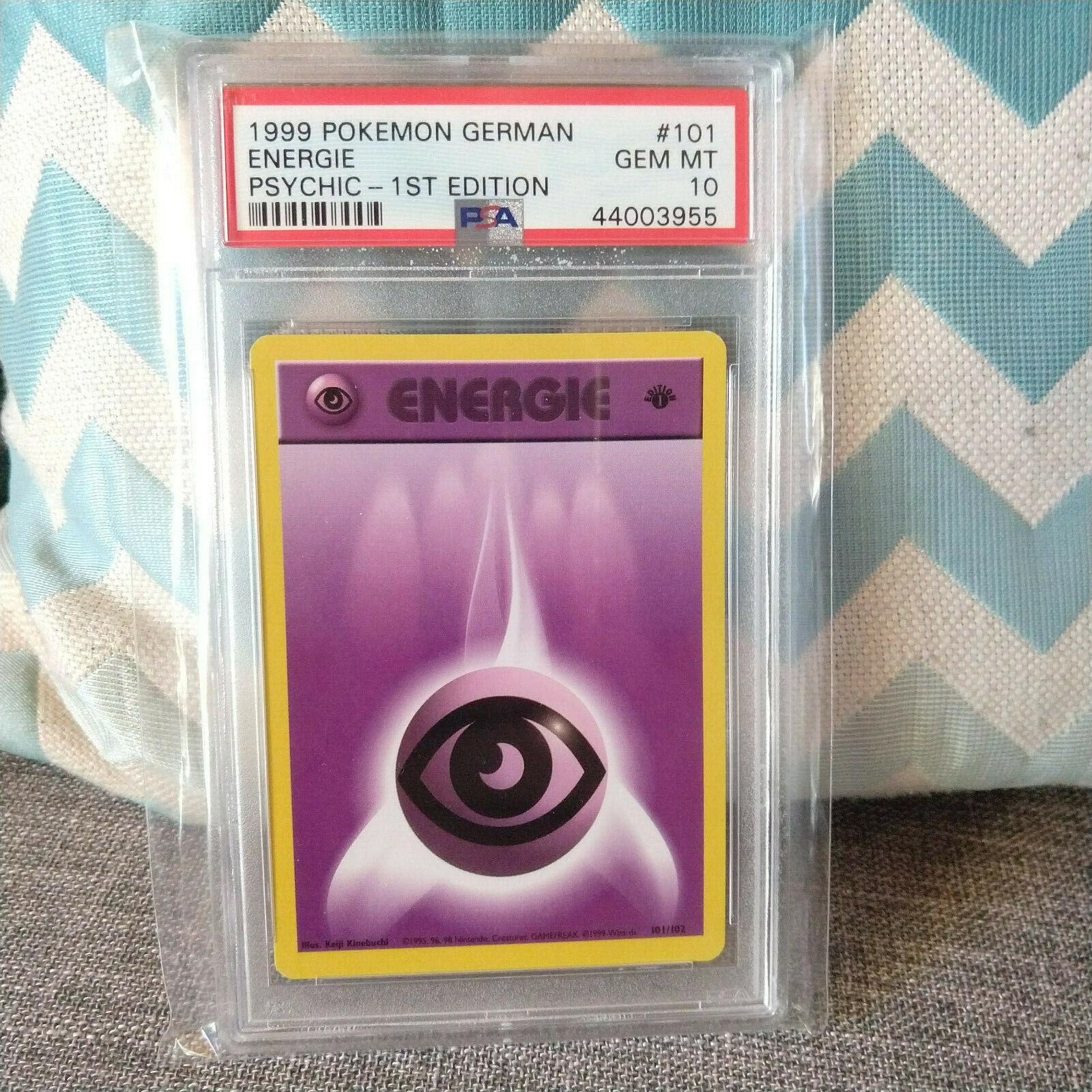 Pokemon Energie Energy Edition 1 Psycho Psychic PSA 10 GEM MINT