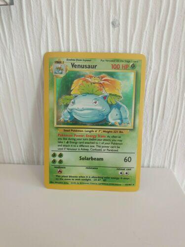Venusaur Pokemon Card Holo Near Mint Rare PSA 1999 WOTC Charizard Blastoise