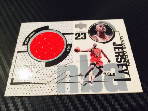 Michael Jordan 9899 Game Jersey Patch Auto 923 Olympic USA jersey  11