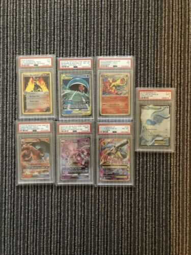 Pokemon PSA Graded Card Bundle X7