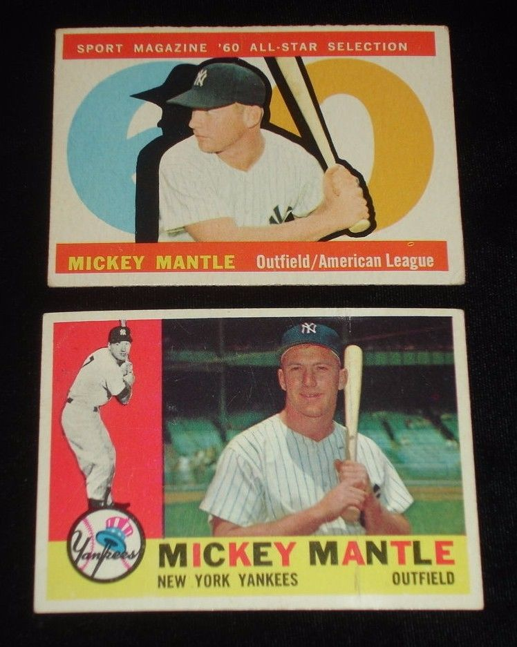 1960 Topps Baseball Card Complete Set of 572  VGEXEX