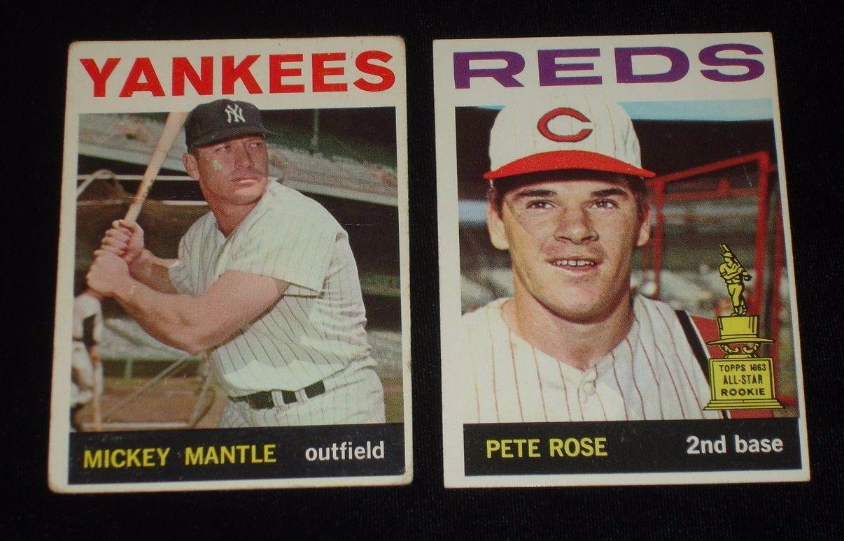 1964 Topps Baseball Card Complete Set of 587  Weak EX