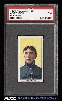 190911 T206 Addie Joss PORTRAIT PSA 7 NRMT PWCC