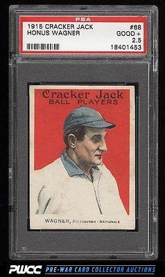 1915 Cracker Jack Honus Wagner 68 PSA 25 GD PWCC
