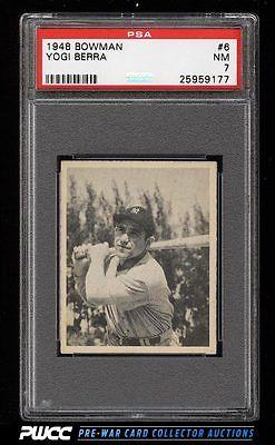 1948 Bowman Yogi Berra SP ROOKIE RC 6 PSA 7 NRMT PWCC