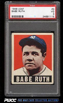 1948 Leaf Babe Ruth 3 PSA 3 VG PWCC