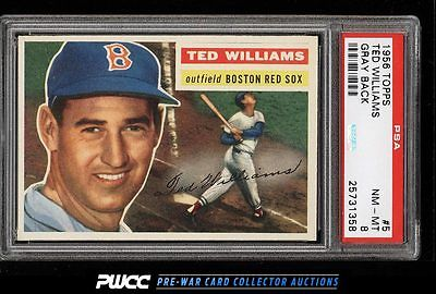 1956 Topps Ted Williams 5 PSA 8 NMMT PWCC