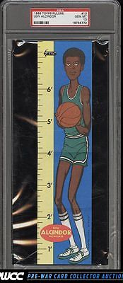 1969 Topps Rulers Basketball Lew Alcindor ROOKIE RC 10 PSA 10 GEM MINT PWCC
