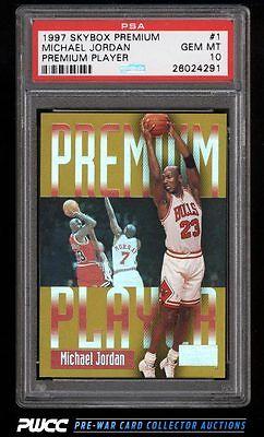 1997 Skybox Premium Player Michael Jordan 1 PSA 10 GEM MINT PWCC