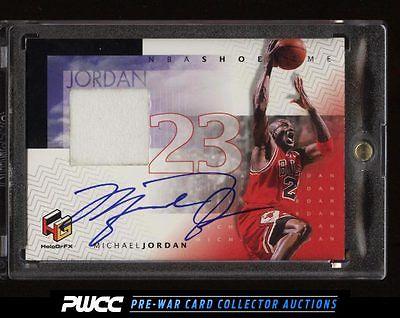 1998 Upper Deck HoloGrFX Basketball Michael Jordan AUTO PATCH MJS PWCC