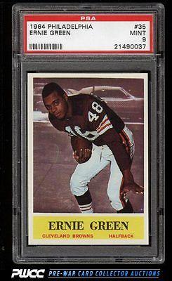 1964 Philadelphia Ernie Green ROOKIE RC 35 PSA 9 MINT PWCC