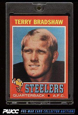 1971 Topps Football Terry Bradshaw ROOKIE RC 156 EX PWCC