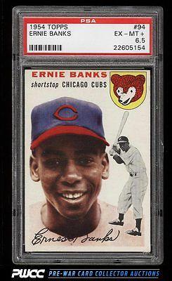 1954 Topps Ernie Banks ROOKIE RC 94 PSA 65 EXMT PWCC