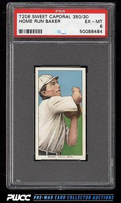 190911 T206 Home Run Baker PSA 6 EXMT PWCC