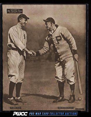 190913 M1012 Sporting News Supplement Ty Cobb  Honus Wagner PWCC