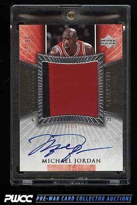 2005 Exquisite Collection Limited Logos Michael Jordan AUTO PATCH 50 PWCC