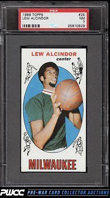 1969 Topps Basketball Lew Alcindor ROOKIE RC 25 PSA 7 NRMT PWCC