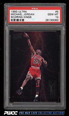 1993 Ultra Scoring Kings Michael Jordan 5 PSA 10 GEM MINT PWCC