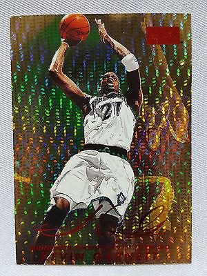 Kevin Garnett 3750 RUBY SP RARE 199899 SkyBox Premium Star Rubies LEGEND KG