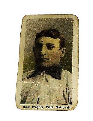MLB HANS HONUS WAGNER 19101911 M116 SPORTING LIFE PASTEL CARD RARE MUST LOOK