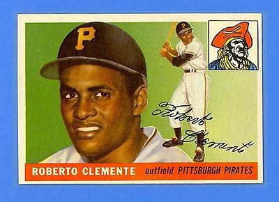ROBERTO CLEMENTE 1955 TOPPS 164  RC  HI   PIRATES  UNBELIEVABLE SHARP