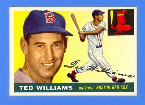 TED WILLIAMS 1955 TOPPS 2  BOSTON RED SOX  MINT CONDITION