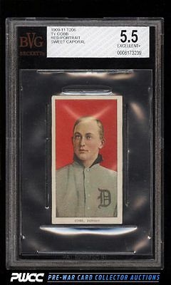 190911 T206 Ty Cobb RED PORTRAIT BVG 55 EXPWCC