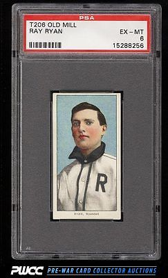 190911 T206 Ray Ryan SOUTHERN LEAGUER OLD MILL PSA 6 EXMT PWCC