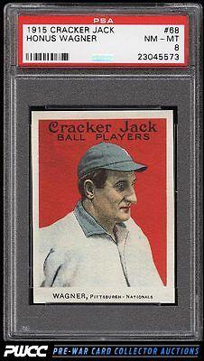 1915 Cracker Jack Honus Wagner 68 PSA 8 NMMT PWCC