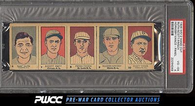1926 W512 Strip Card Panel Babe Ruth Rogers Hornsby Frisch PSA 4 VGEX PWCC