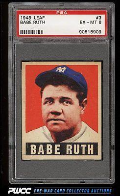 1948 Leaf Babe Ruth 3 PSA 6 EXMT PWCC