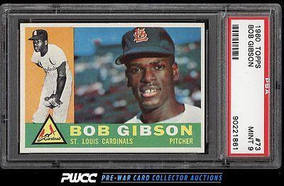 1960 Topps Bob Gibson 73 PSA 9 MINT PWCC