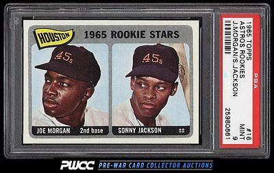 1965 Topps Joe Morgan ROOKIE RC 16 PSA 9 MINT PWCC