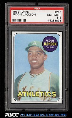 1969 Topps Reggie Jackson ROOKIE RC 260 PSA 85 NMMT PWCC