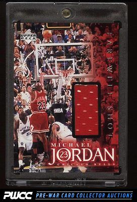 1998 Upper Deck Farwell Shot Michael Jordan PATCH 275 PWCC