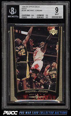 1998 Upper Deck Gold Michael Jordan 11 230F BGS 9 MINT PWCC