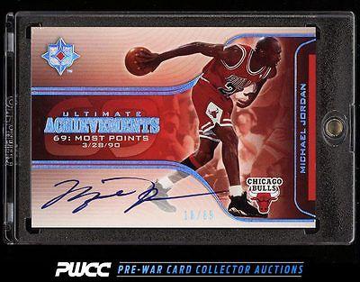 2004 Ultimate Collection Ultimate Achievements Michael Jordan AUTO 69 PWCC