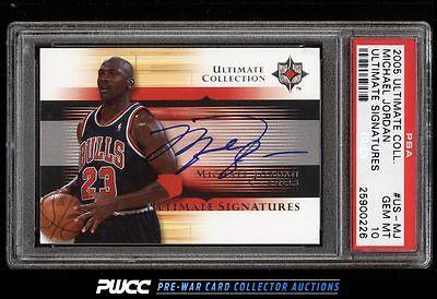 2005 Ultimate Collection Michael Jordan AUTO USMJ PSA 10 GEM MINT PWCC