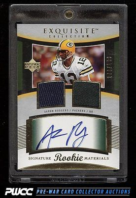 2005 Exquisite Collection Aaron Rodgers ROOKIE RC AUTO PATCH 199 106 PWCC