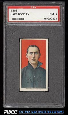 190911 T206 Jake Beckley PSA 7 NRMT PWCC
