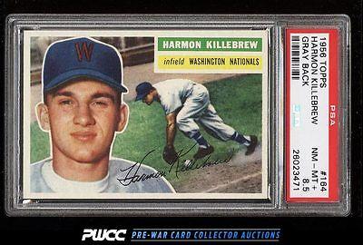 1956 Topps Harmon Killebrew 164 PSA 85 NMMT PWCC