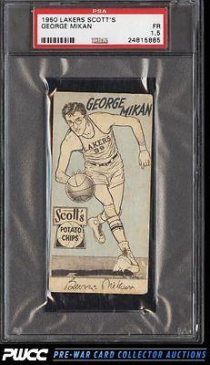 1950 Scotts Potato Chips Lakers George Mikan PSA 15 FR PWCC