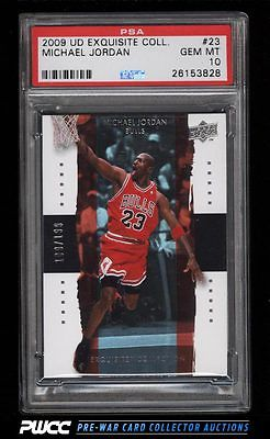 2009 Exquisite Collection Michael Jordan 199 23 PSA 10 GEM MINT PWCC