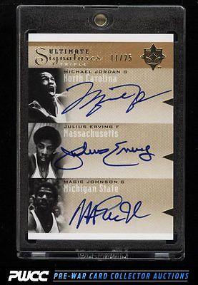 2010 Ultimate Collection Michael Jordan Magic Johnson Erving AUTO 25 PWCC