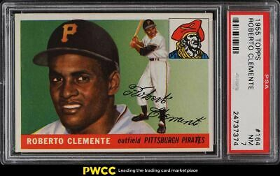1955 Topps Roberto Clemente ROOKIE RC 164 PSA 7 NRMT