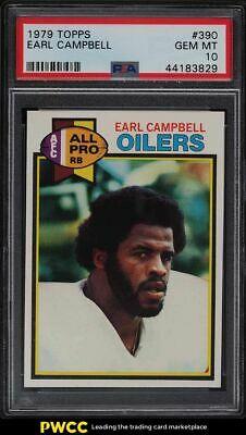 1979 Topps Football Earl Campbell ROOKIE RC 390 PSA 10 GEM MINT