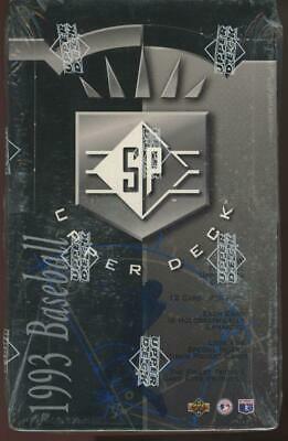 1993 Upper Deck SP Foil Baseball Factory Sealed Box Jeter RC PSA 10