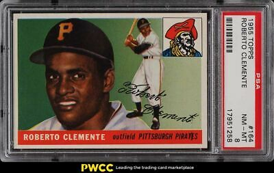 1955 Topps Roberto Clemente ROOKIE RC 164 PSA 8 NMMT